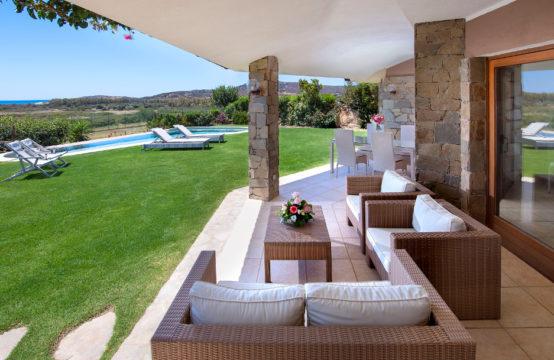Chia Splendida Villa Panoramica Con Piscina